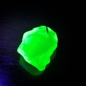 Uranium Sea Glass Pendant